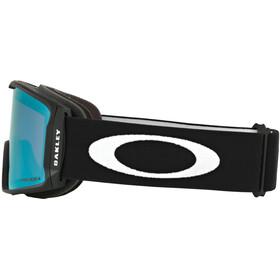 Oakley Line Miner XL Lunettes de ski Homme, matte black/prizm snow sapphire iridium